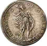 1 piastre Ferdinand II – revers