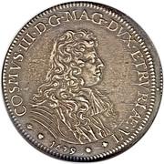 1 piastre - Cosimo III – avers