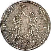 1 piastre - Cosimo III – revers