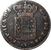 1 quattrino - Leopold II – avers