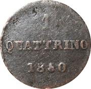 1 quattrino - Leopold II – revers