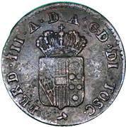 1 Quattrino - Ferdinando III – avers