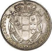 5 paoli - Leopold II – revers