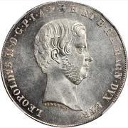 1 francescone, 1 quattro, 4 fiorini - Leopold II – avers