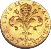 1 zecchino - Leopold II – avers