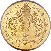 1 ruspone - Leopold II – avers