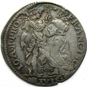 Francesco de Medici (1574-87), Giulio 1585 – revers