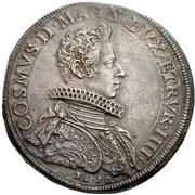 1 Piastra - Cosimo II – avers