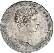 4 Fiorini - Leopoldo II – avers