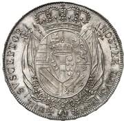 4 Fiorini - Leopoldo II – revers