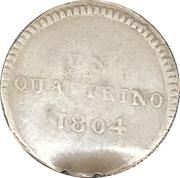 1 Quattrino - Louis I – avers