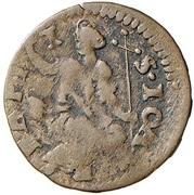 1 Quattrino - Ferdinando II de' Medici (seconda serie) – revers