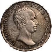 5 soldi Ferdinando III – avers