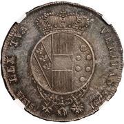5 soldi Ferdinando III – revers