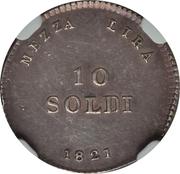 10 Soldi - Ferdinando III – revers