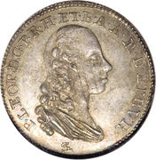 1 paolo - Pietro Leopoldo – avers