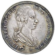 2 paoli - Ferdinando III – avers