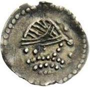 ½ siliqua Au nom d'Heraclius, 610-641 – avers