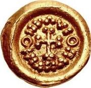 1 tremissis Au nom d'Inscription Sans Signification (torse avec dix sections; avec B) – revers