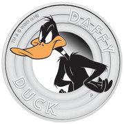50 Cents - Elizabeth II (Daffy Duck) – revers