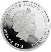 50 Cents - Elizabeth II (Sylvester) – avers