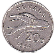 20 cents Elizabeth II (3e effigie) – revers