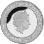 10 Cents - Elizabeth II (Ned Kelly) – avers