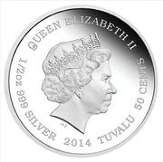 50 Cents - Elizabeth II (Brown Bear) – avers