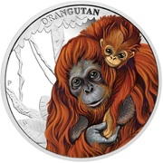 50 Cents - Elizabeth II (Orangutan) – revers