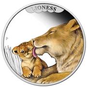 50 Cents - Elizabeth II (Mother's Love - Lioness) – revers