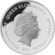 1 Dollar - Elizabeth II (The Demeter; Silver Bullion) -  avers