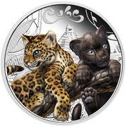 50 Cents - Elizabeth II (Jaguar Cubs) – revers