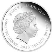 50cents - Elizabeth II (Ocean Fairy) – avers