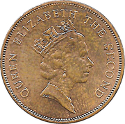 2 cents Elizabeth II (3e effigie) – avers