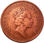 1 cent Elizabeth II (3e effigie) – avers