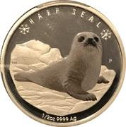 50 cents Phoque du Groenland – revers