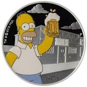 1 Dollar - Elizabeth II (Homer Simpson) – revers