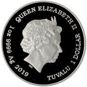 1 Dollar - Elizabeth II (Gone With The Wind) – avers
