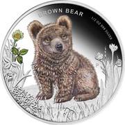 50 Cents - Elizabeth II (Brown Bear) – revers