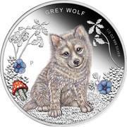 50 Cents - Elizabeth II (Grey Wolf) – revers