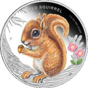 50 Cents - Elizabeth II (Red Squirrel) – revers