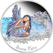 50 Cents - Elizabeth II (Snow Fairy) – revers