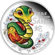 50 Cents - Elizabeth II (Baby Snake) – revers