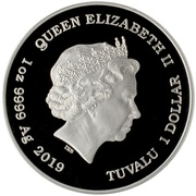 1 Dollar - Elizabeth II (Marge Simpson) – avers