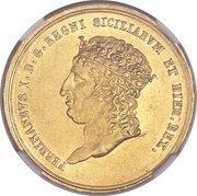 15 ducati - Ferdinando I – avers