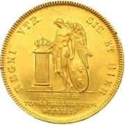 15 ducati Ferdinando II – revers