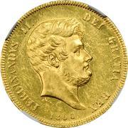 15 ducati - Ferdinando II – avers