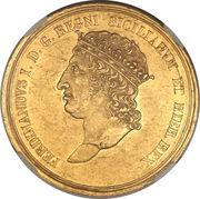 30 ducati, 25 piastra - Ferdinando I – avers