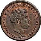2 tornesi - Ferdinando II – avers