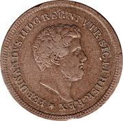 3 tornesi - Ferdinando II – avers